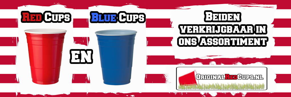 Red Cups & Blue Cups bij Originalredcups.nl